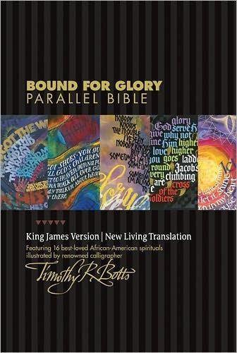 NLT/KJV Bound for Glory Parallel Bible, Hardcover