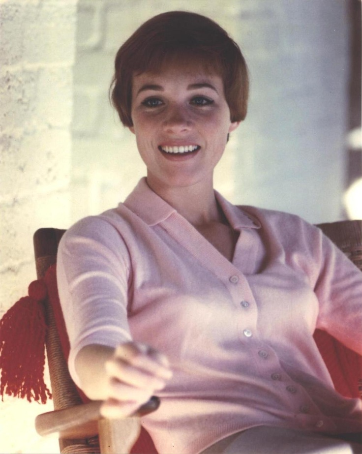The incomparably lovely Julie Andrews