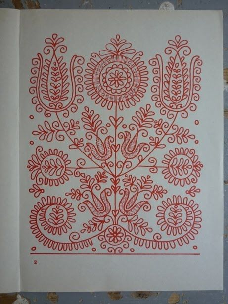 parna vintage linen and hemp: Hungarian Embroidery (2) Kalotaszeg