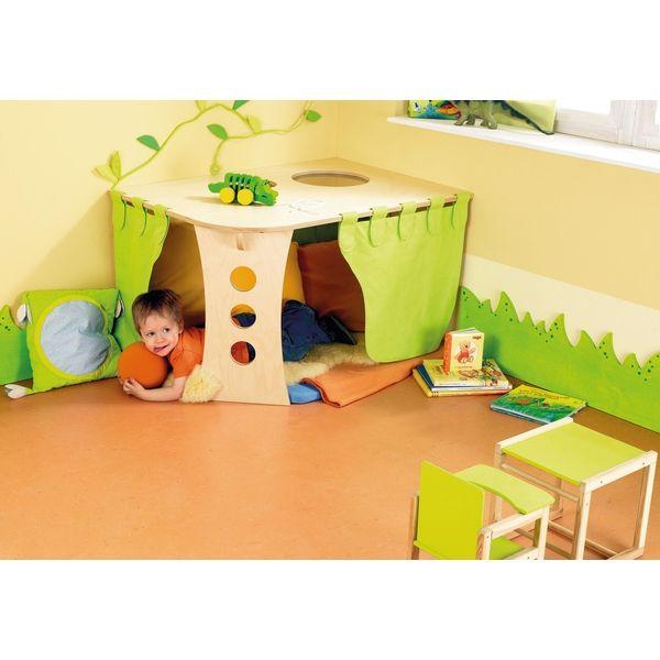 9 besten kita bilder auf pinterest spielzimmer - Kuschelhohle kinderzimmer ...