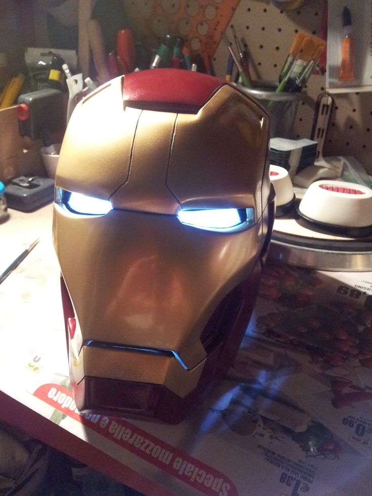 Iron Man MK43 Helmet Made in poliurethanic resin