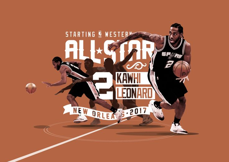 SAN ANTONIO (Jan. 19, 2017)  – The NBA today announced that San Antonio Spurs forward Kawhi Leonard has been selected to be a starter in the 2017 All-Star Game. The sixth-year Spur was voted by fans, players and media into the game to be held on Sunday, Feb. 19 in New Orleans. Now named a starter in back-to-back seasons after making his first All-Star appearance last year, Leonard becomes the fifth Spurs player in franchise history to be selected as an All-Star starter more than once…