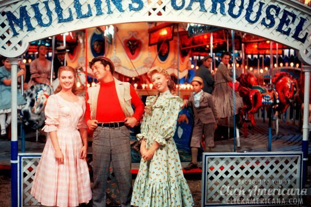 "Share Tweet + 1 Mail Movie review: Carousel ""Carousel"" is CinemaScope's ""answer"" to Todd-AO and its ""Oklahoma!"" — and, on the strength of the ..."