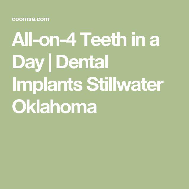 All-on-4 Teeth in a Day | Dental Implants Stillwater Oklahoma