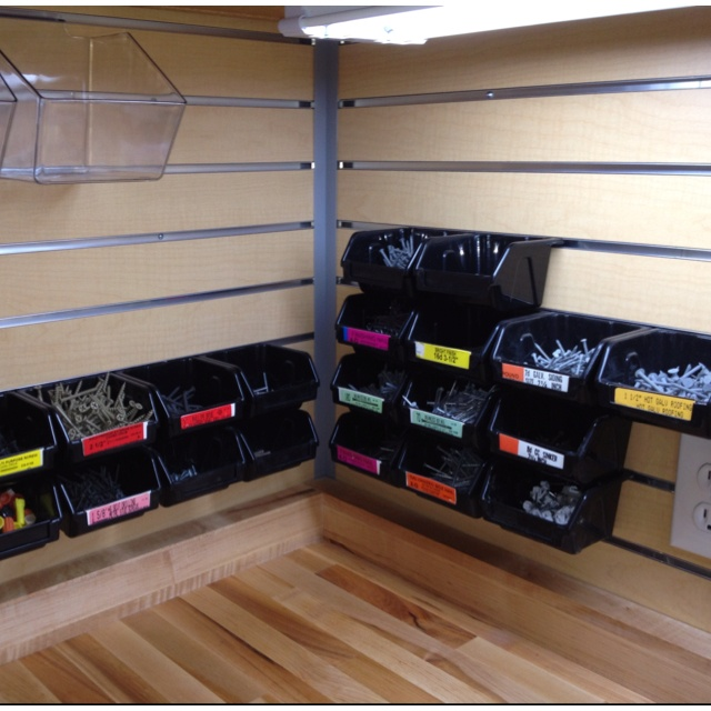 88 best Slatwall and Pegboard Ideas images on Pinterest