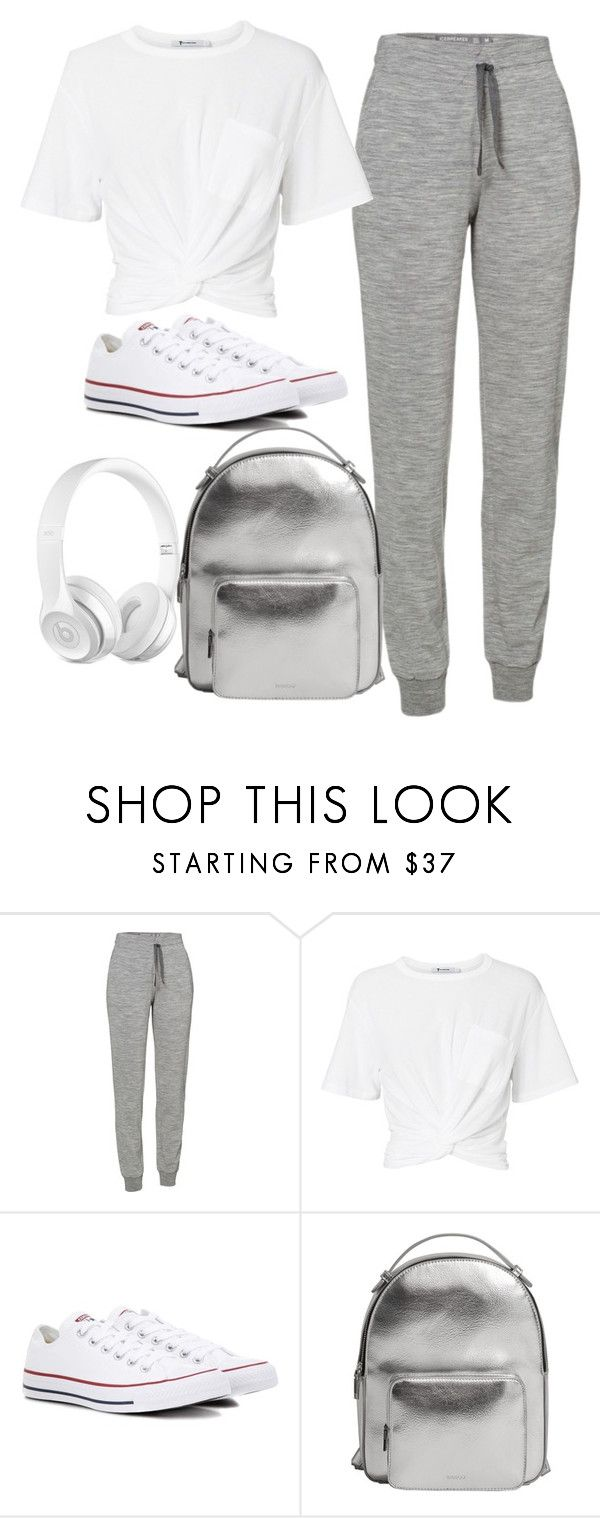 """styl3"" by yatsar1 ❤ liked on Polyvore featuring Icebreaker, T By Alexander Wang, Converse and MANGO"