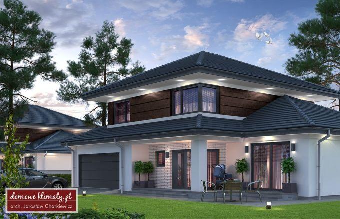 Projekt domu Verona III NF40, wizualizacja 1