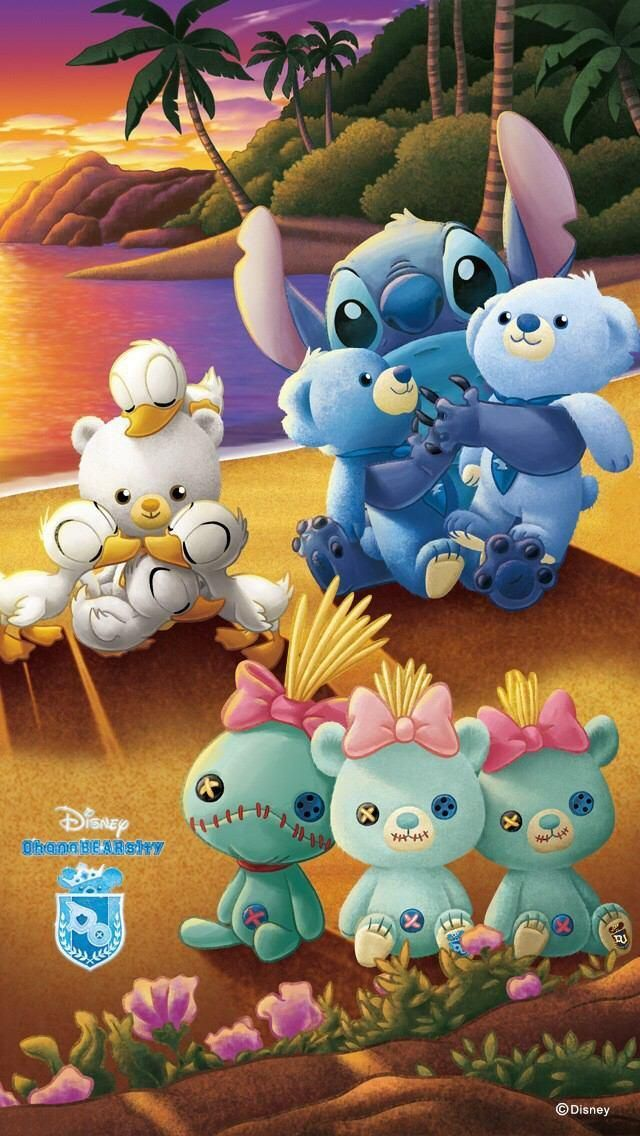 stitchkingdom:  This was sent to me on Twitter. Not sure what it is exactly other than it appears to be an official teaser for a Lilo and Stitch branded version of Disney Store Japan's Unibearsity but called Ohanabearsity. All I know is I need that Scrump. Whether this is indeed real or not.