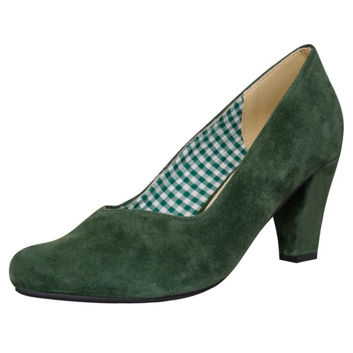 Buy Dirndl London Pumps Feringasee In Dunkelgrün Von Hirschkogel