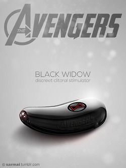 Black Widow - discreet clitoral stimulator