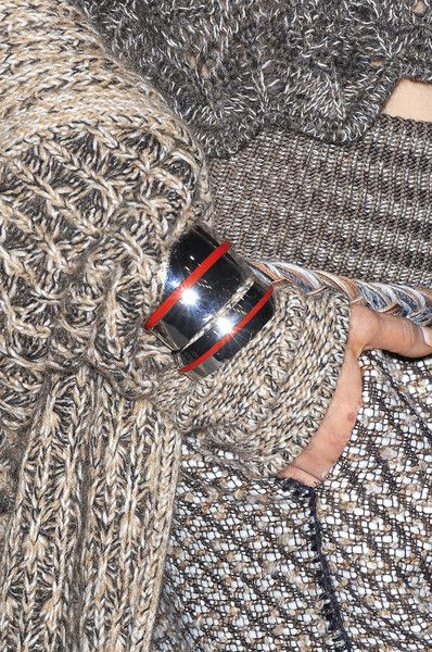 I just love the mesh of everything here.  Missoni