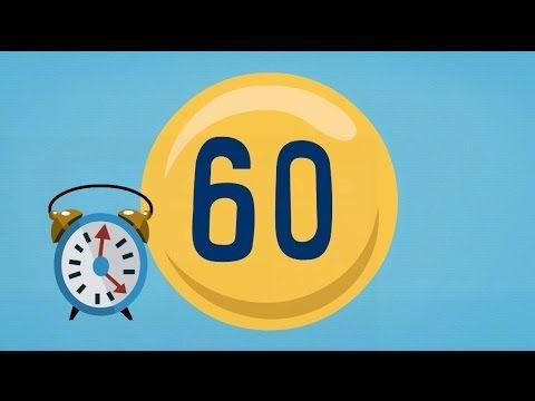 Cuenta atrás de 1 minuto (60 segundos)