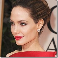 angelina jolie no makeup | Celebrities Without Makeup! The SparkleCore tribute to the Beauty ...