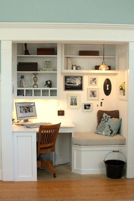 Multipurpose Spaces: Office Closet