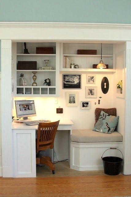 Multipurpose Spaces: Office Closet