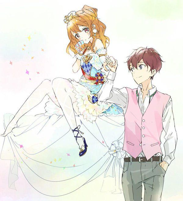 Aikatsu Akari and Tsubasa the official ship that actually showed some romance! (compared to Ichigo x Naoto)