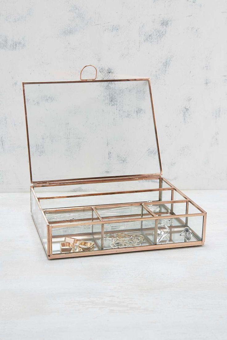 Copper Jewellery Box