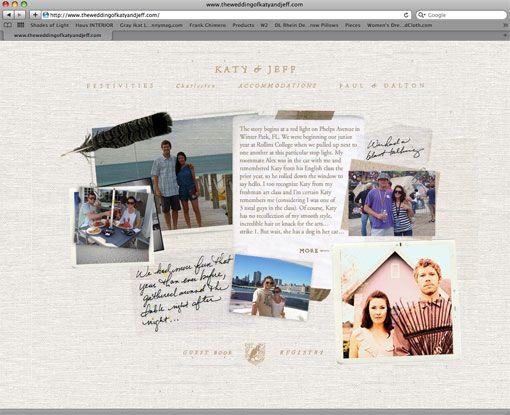 not a blog, but I love this website! Stitch Design Co.: A Wedding Website