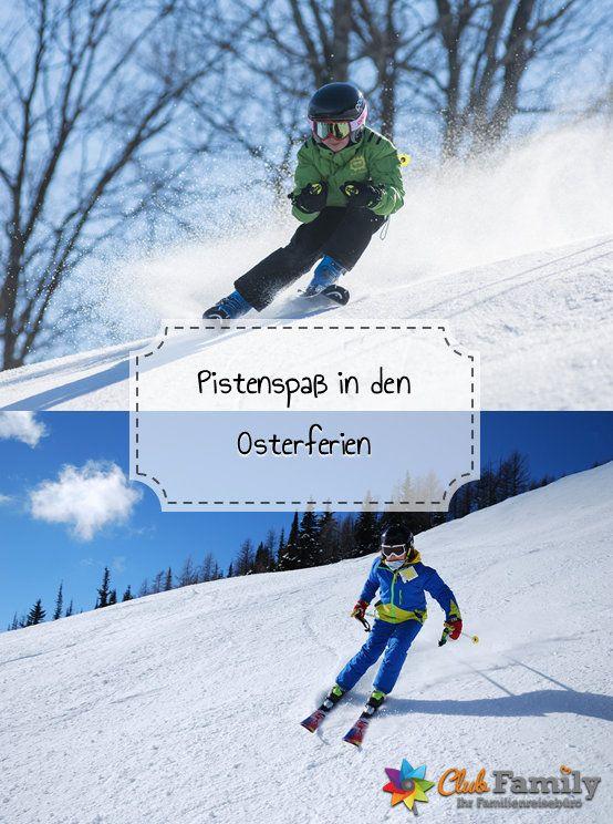 Ab in den Schnee: In den Osterferien werden die Pisten unsicher gemacht! #winterurlaub #skifahren #pistenspaß #wintersport #urlaubindenbergen #familienurlaub #skifoan #snowboard #winter #schnee #clubfamily