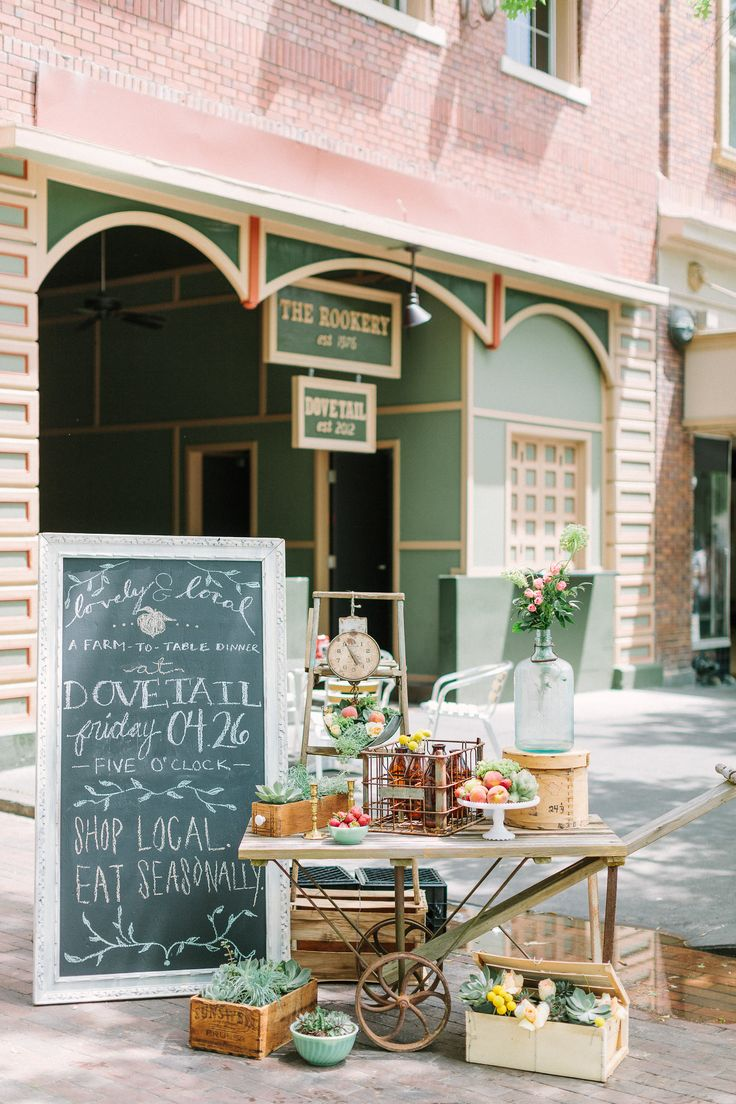 Southern vintage garden cart and other treasures