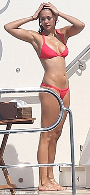 Nina Dobrev in Red Bikini Hot Personal Pics Pic 25 of 35
