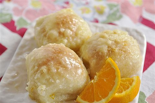 Simply easy orange rolls using rhodes rolls. AMAZING!!! These were a huge hit at Sunday dinner. Super easy and heavenly. It was more like dessert.