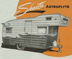 Vintage Shasta Astrodome Trailer dimensions, weight and factory features