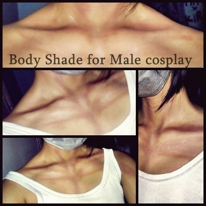 Cosplay Tutorial : Male Body Shade by KeiCosplay.deviantart.com on @deviantART