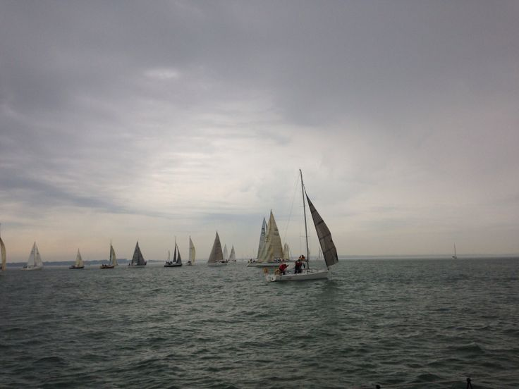 Early morning on Solent 2014