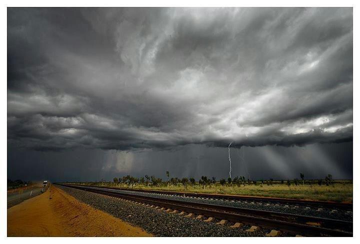 Storm in Port Hedland