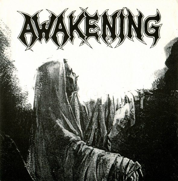 "Swimming Through the Past, an  EP by Awakening. Released in 1992 on Adipocere (catalog no. AR 007; Vinyl 7""). Genres: Death Doom Metal.  Rated #389 in the best EPs of 1992."