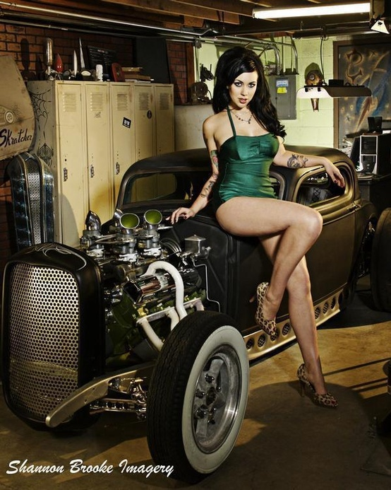 Sexy Women And Hot Rods 59