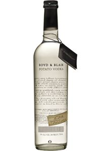 Boyd & Blair Potato #Vodka.  A classic small-batch vodka, Boyd & Blair was ranked the top vodka in the world by the Spirit Journal in 2011, 2012 and 2013.   @Caskers