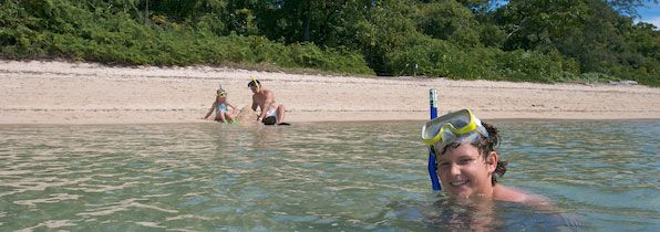 Swimming and snorkelling options