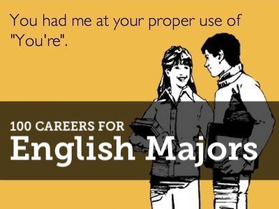 They Do Exist (Really!) >> 100 Careers for English Majors