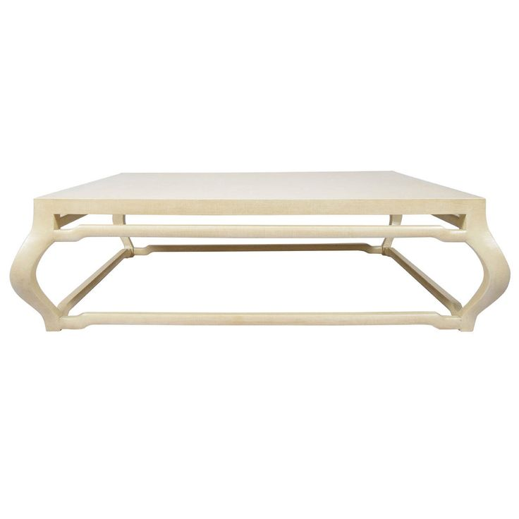 J Robert Scott MIng Coffee Table In Lacquered Grasscloth | From A Unique  Collection Of Antique