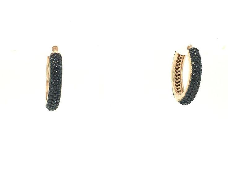 TURKISH HANDMADE 925k STERLlNG SlLVER ONYX WOMAN EARRINGS  | eBay