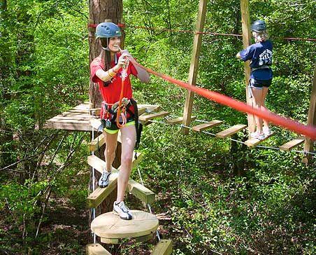 TreeTop Adventure & Zip Lining in GA   Zip line backyard ...