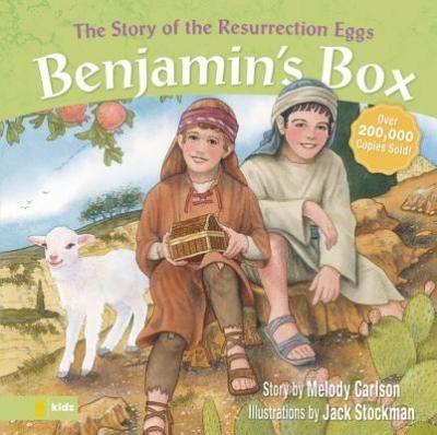 The story of Ressurection Eggs - Melody Carlson: Varsta 3+;  Care sunt comorile lui Benjamin.La fel ca toți copiii, el este foarte, foarte curios. Atunci când Isus vine la Ierusalim, decide să-l urmeze și să afle cine este el cu adevărat . La început , Benjamin crede că Isus este un profesor, apoi un rege . Prin ochii lui Benjamin vedem ceea ce se intampla cu Iisus, de la intrarea Sa in Ierusalim si pana la rastignirea si invierea Lui. O poveste cu maturisiri speciale si trairi sufletesti.