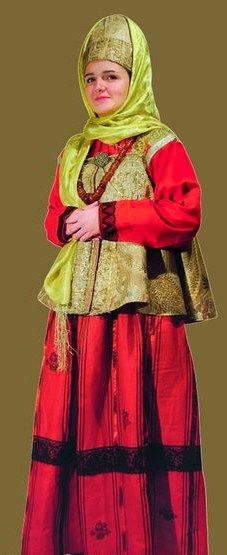 Russian traditional costume. An authentic specimen from Sergey Glebushkin…