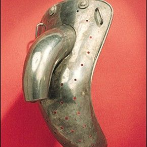 Used in Victorian Asylums to prevent masturbation.