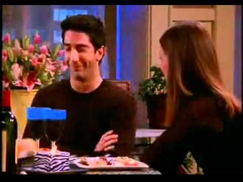 """I was thinking about this episode of """"Friends,"""" as I was predicting how there will probably be a return to naturally-yellowed teeth. :) -- (( Ross (Friends) Whitens His Teeth - YouTube ))"""