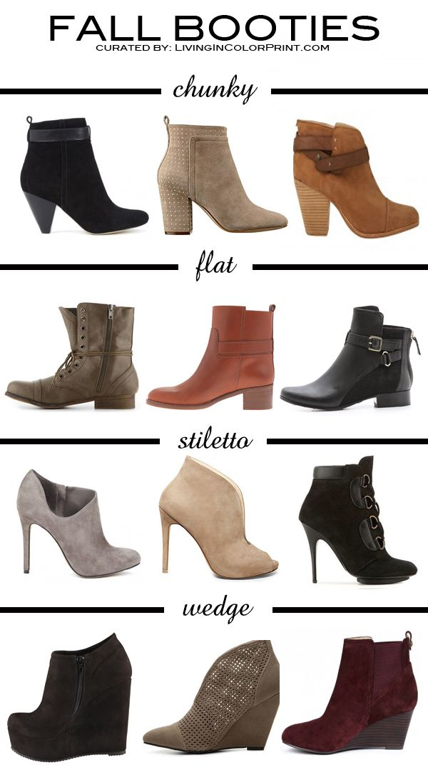 Ankle Boots for Fall!