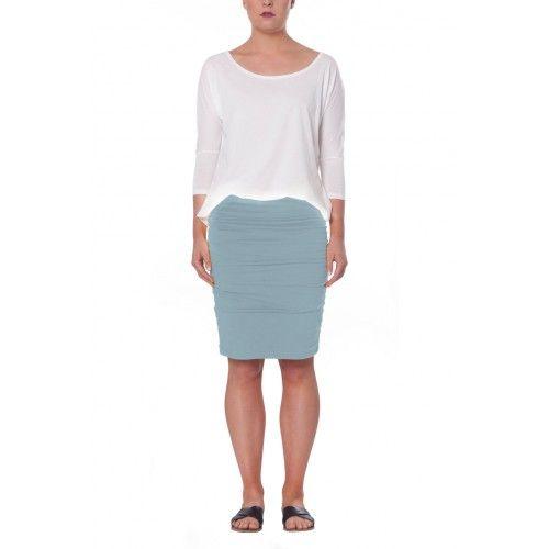 SHAE Skirt - Soft Blue