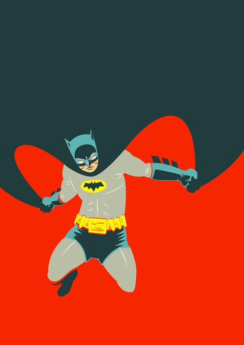 Batman is a favorite hero of ours. Love the vintage costume.