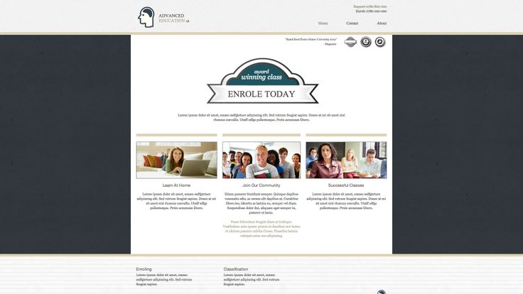 Diseño web sector educacion, clases online