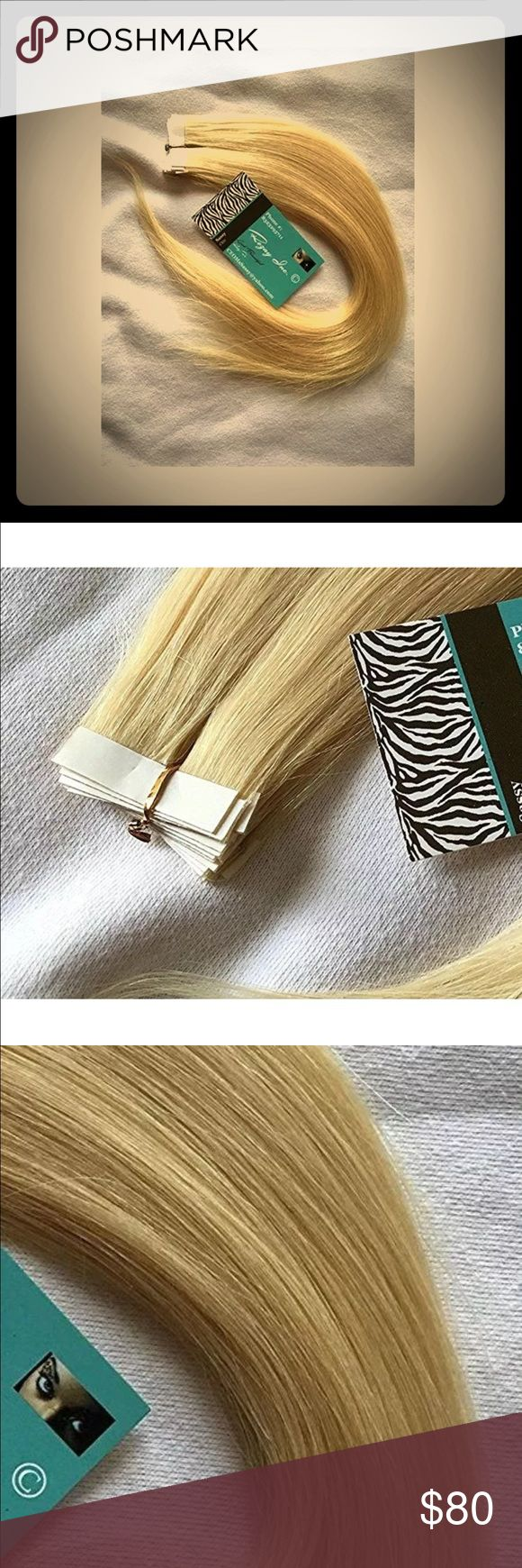 Rozay Human Hair Tape Extension's (39) pieces Rozay Remy Human Hair Tape Extension's (39) pieces color: 613 Rozay Other