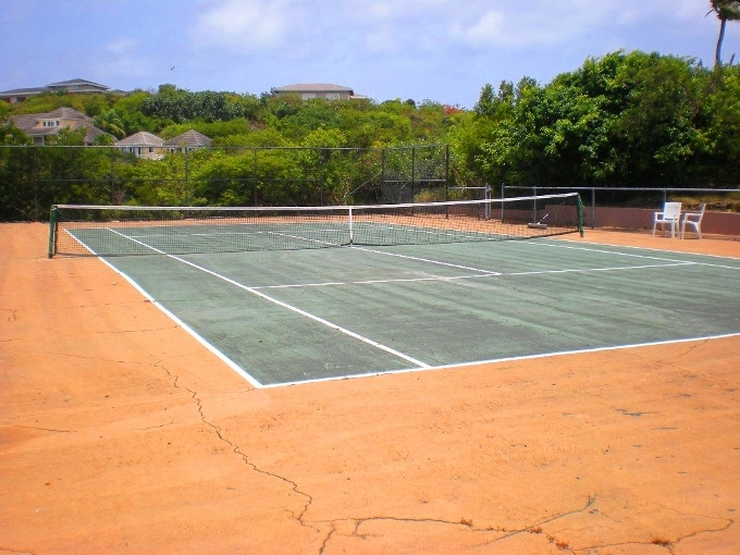 #HomeOwnerBuff Ideal Backyard Tennis Court