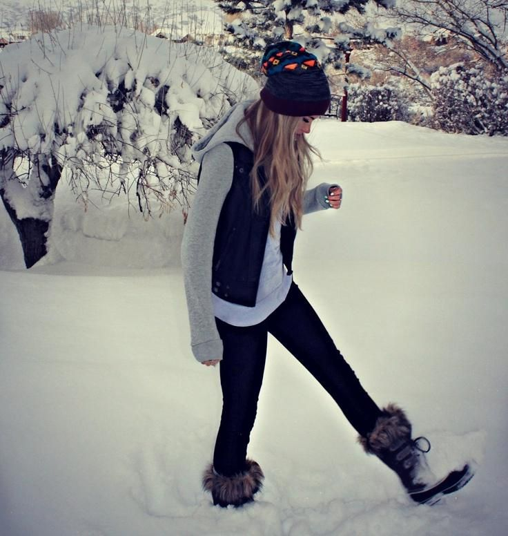 Winter time - snow time