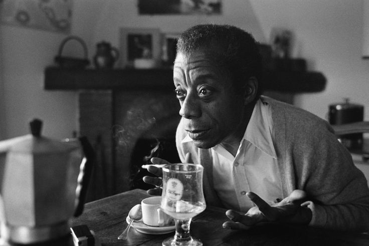 Lindsay Film Review | I Am Not Your Negro, Raoul Peck documentary | James Baldwin at home in Saint-Paul-de-Vence, 6 November 1979. Photo by Ralph Gatty.